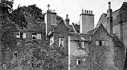 Picturesque gables at rear of Castle Gate.