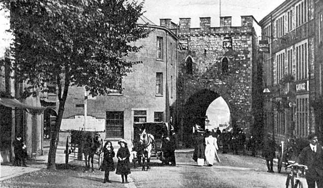The Towngate, Chepstow.