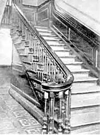 Staircase in the People's Hall, Heathcote Street