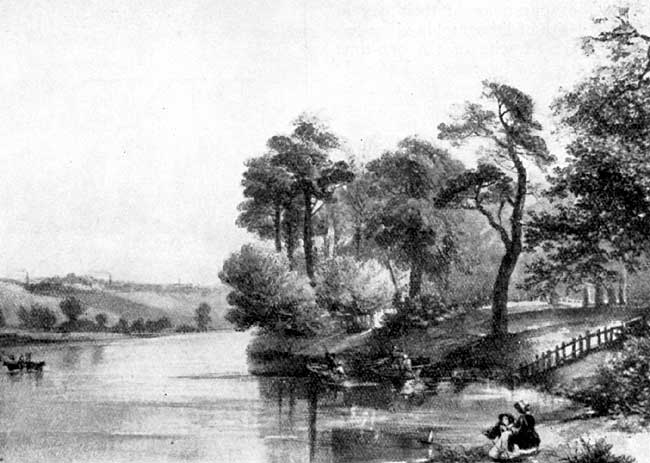 The Trent at Wilford, by Mrs. William Enfield.