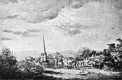 View of Edwinstowe.