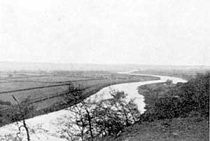 View of the Vale of Trent from Malkin Hill.