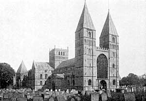 Southwell Cathedral.