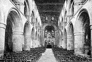 The Nave, Southwell Cathedral.