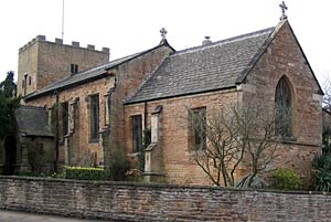 St Patrick's church, Nuthall, in 2004.