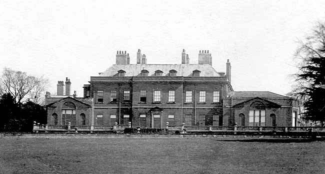 Ossington Hall in the 1920s.