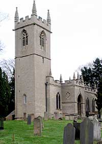 St James' church, Papplewick was rebuilt by Frederick Montagu in 1795 (A Nicholson, 2004).