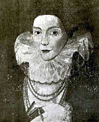 The wife of Hugh Cartwright of Malling. 1593.