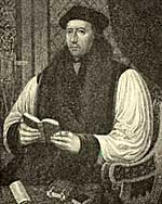 Archbishop Thomas Cramner (1489-1556)