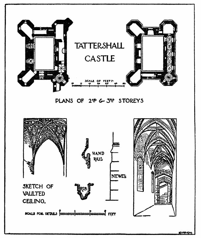 Tattershall Castle plan