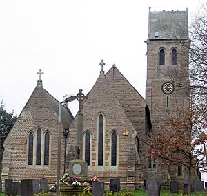 Radcliffe-on-Trent church in 2004.