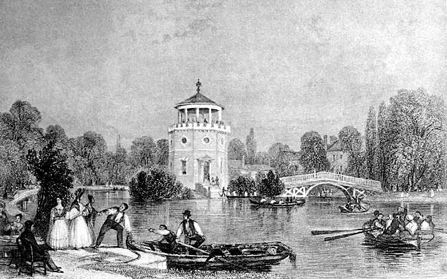 Radford Folly (from an old engraving).