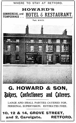 Howard's Commercial and Temperance Hotel & Restaurant
