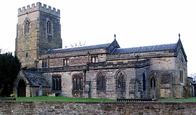 Selston church (photo: A Nicholson, 2006).