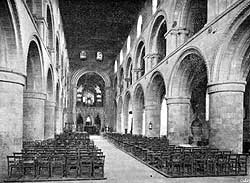 The nave, looking east.