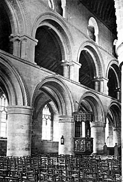 Nave arcade—South side—Southwell