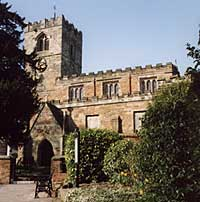 All Saints' church, Strelley
