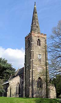 St. Michael's church, Sutton Bonington (A Nicholson, 2006).