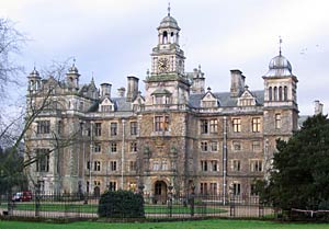 Thoresby Hall in 2007.