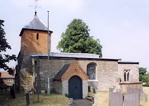 Tithby church in 2003.