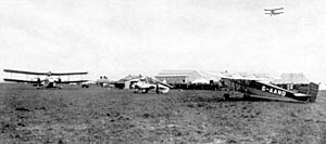 Tollerton airport in the 1930s.