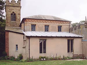 Tollerton church in the 1990s.