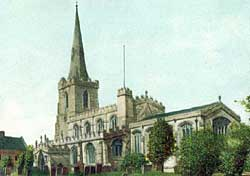 St Nicholas' Church, Tuxford c.1905.