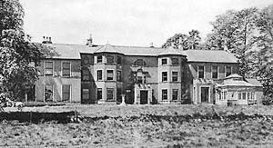 Nettleworth Hall in the 1940s.