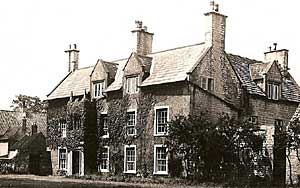 The Old Rectory, Warsop, in the 1930s.
