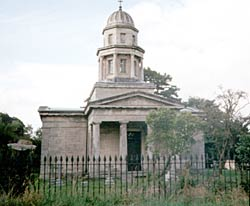 The mausoleum at Milton