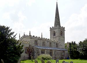 Church of All Saints, Weston in 2014.