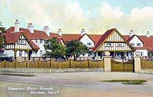 The Dorothy Boot Homes.
