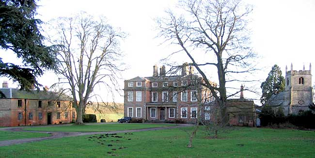 Winkburn Hall was most probably built around 1690 as a two-storey house; the attic was added in the late 18th century (photo: Andrew Nicholson, 2005).