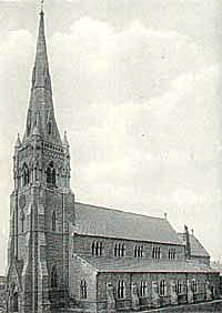 St Johns, Worksop, in 1900.